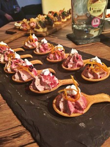 edible spoon canapes