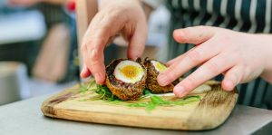 scotch eggs chef